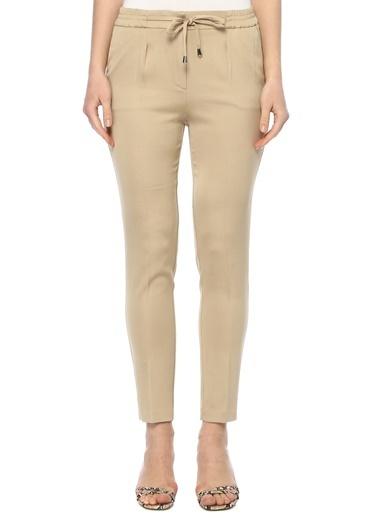 NetWork Kadın 1073375 Regular Fit Yüksek Bel Pantolon Bej